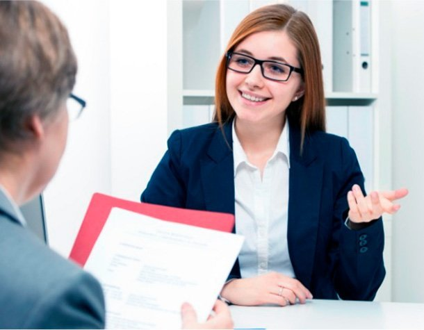 Student practices for interviews with college mentor