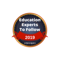 upjourney education expert to follow logo